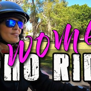 Women Who Ride Motorcycles - Why the ladies ride motorcycles and what we can learn
