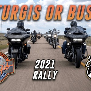 Riding Harleys to the 2021 Sturgis Motorcycle Rally! | Day 1 | L.A. to Williams, AZ | 2LaneLife | 4K