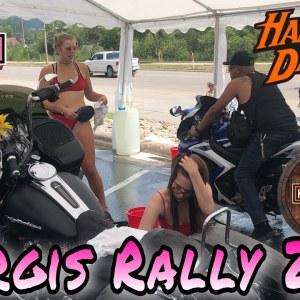 STURGIS MOTORCYCLE RALLY DAY 2 | Bike Week | 81st Sturgis Motorcycle Rally | Free Bikini Bike Wash