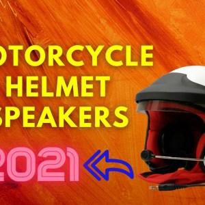 Best Motorcycle Helmet Speakers To Buy In 2021