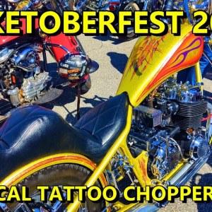 BIKETOBERFEST 2021 TROPICAL TATTOO CHOPPER SHOW