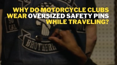 The Real Reason Motorcycle Clubs Wear OVERSIZED SAFETY PINS While Traveling- Prep for Sturgis 2021
