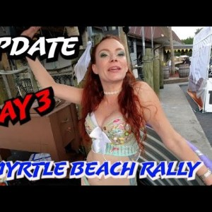 DAY 3 MYRTLE BIKE WEEK / SBB / BEAVER BAR / MURRELLS INLET / HAIRBALL / 4K