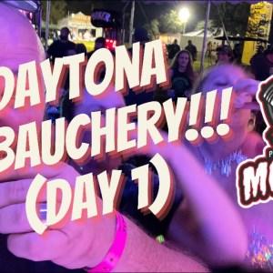 Daytona Biketoberfest Ep #1 Cacklebery  Biker Debauchery