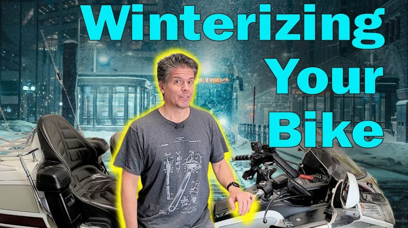 How to Winterize Your Motorcycle - And What NOT To Do!