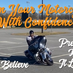 How Do I Get Over The Fear Of Leaning My Motorcycle? Does The Weight Matter? No!!