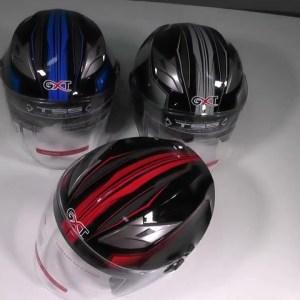 Motorcycle Helmet Half Face ABS Motorbike Electric Safety Double Lens Helmet