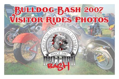 Bulldog Bash 2007 Visitors Rides