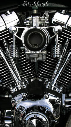 v twin Harley engine