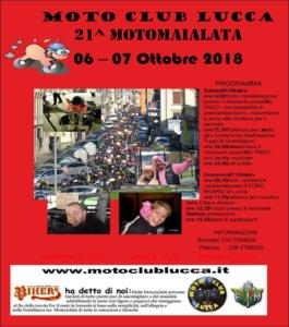 21° Motomaialata - Ottobre 2018