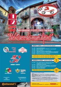 """10° raduno """"Nel paese dei muri dipinti"""" - Mugnano (PG) - 1 luglio"""