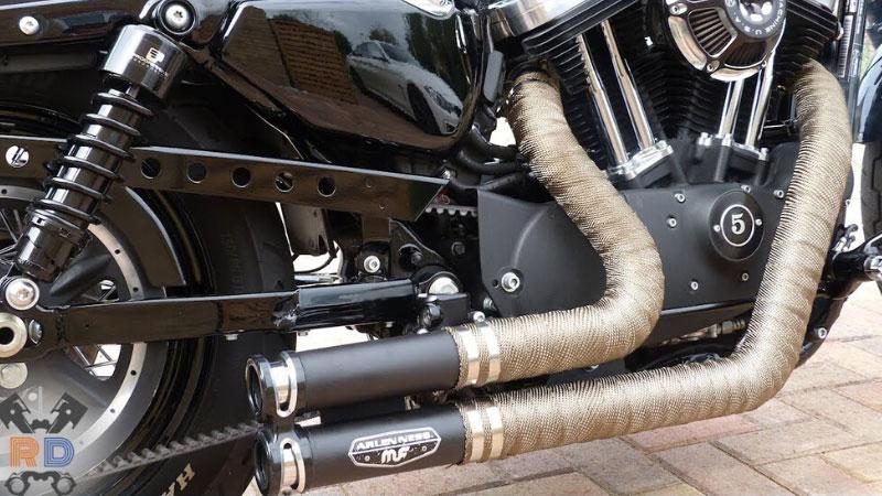 best motorcycle exhaust wrap ultimate