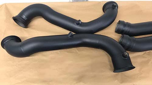 can you ceramic coat exhaust how much