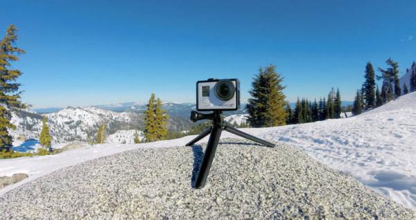 Go Pro 3 Way Tripod Mount Action Shot