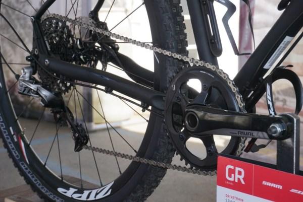 sram rival 1x single chainring road bike group