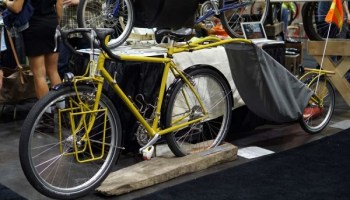 Nahbs Brilliant Chrome And Lugs On Peter Mooney Cycles Bikerumor