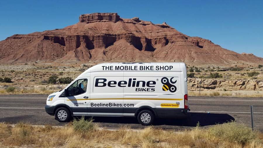 beeline bikes mobile bicycle repair and delivery