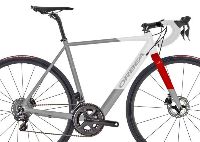 Orbea Gain aluminum road e-bike e-road bike electric-assist road bike stealth battery motor integration d10 frameset
