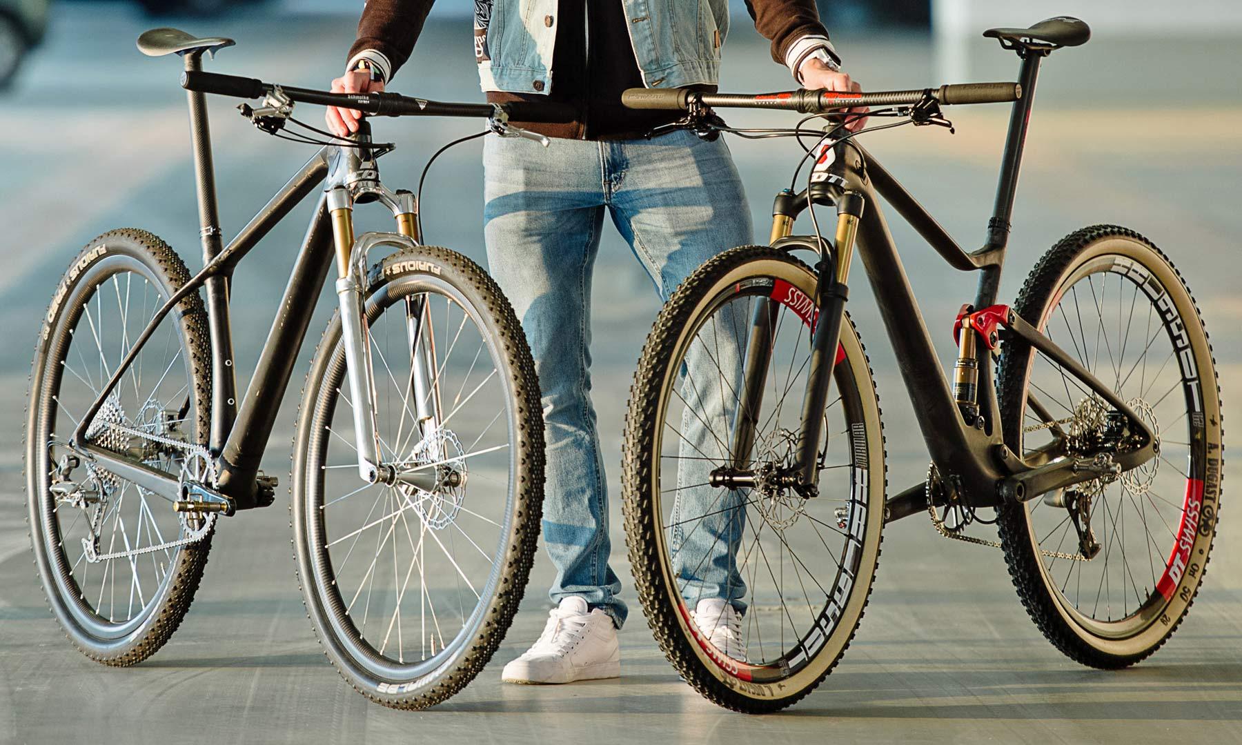 d476e6547 BFS2018  The world s lightest 29er mountain bikes are a Scott Scale   Spark