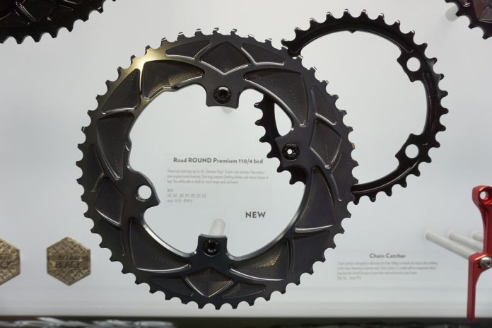 absoluteblack round chainrings for shimano 4-bolt dura-ace and ultegra cranks are a more affordable replacement or upgrade
