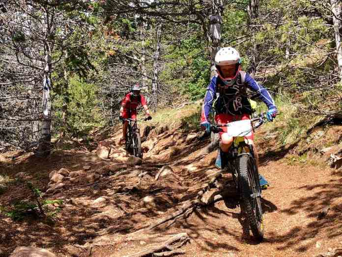 bikerumor pic of the day downhill mountain biking on the Elk Park Trail in Colorado Springs, Colorado