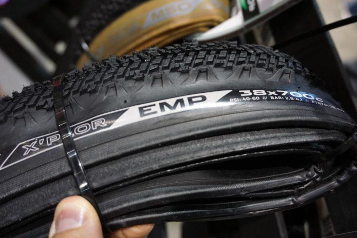 2019 Donnelly EMP gravel road bike tire for aggressive terrain