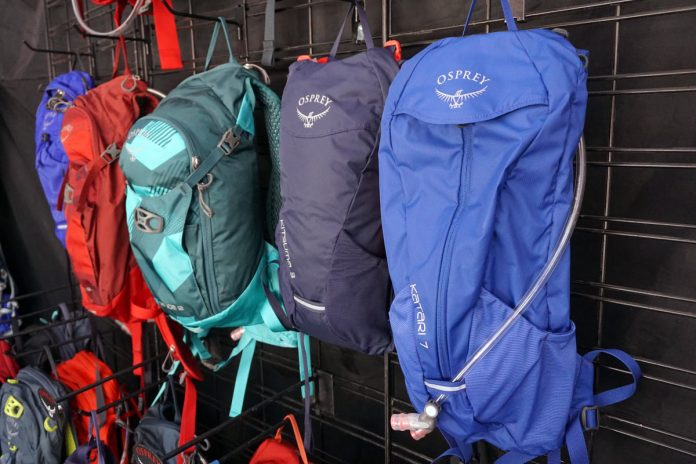 2019 Osprey Kitsuma and Kitari budget mountain bike hydration packs are full featured but affordable