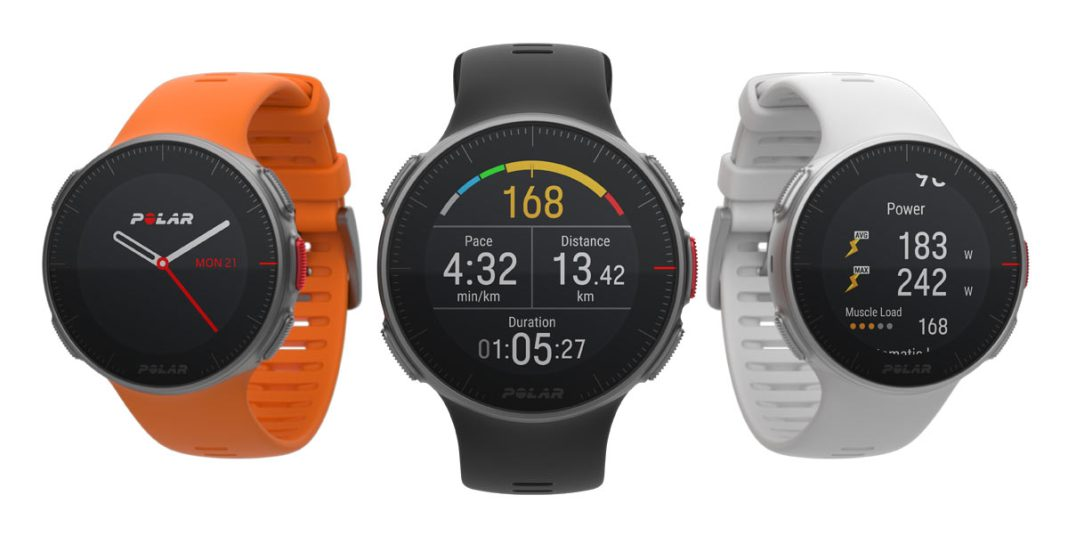 Polar Vantage heart rate monitor watches tell you when you are overtraining and when to recover