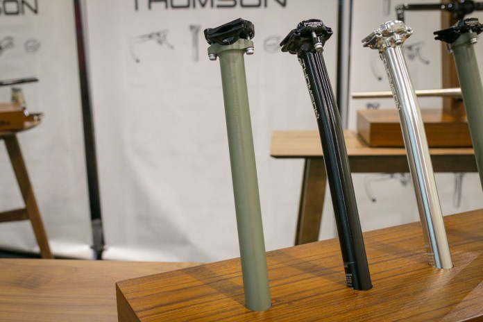Thomson refinishes stems and seat posts with limited run of ceramic coatings