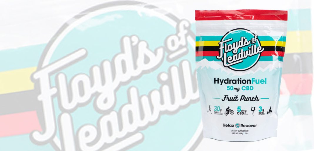 floyds of leadville CBD oil isolate sports drink mix