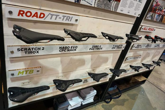 Prologo makes mid- and high-end saddles for road bikes mountain bikes and everything in between