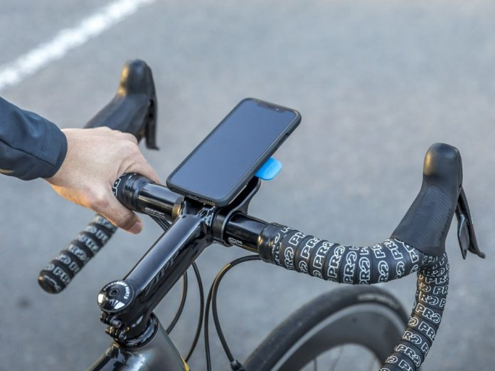 what is the most secure smartphone and iPhone handlebar mount