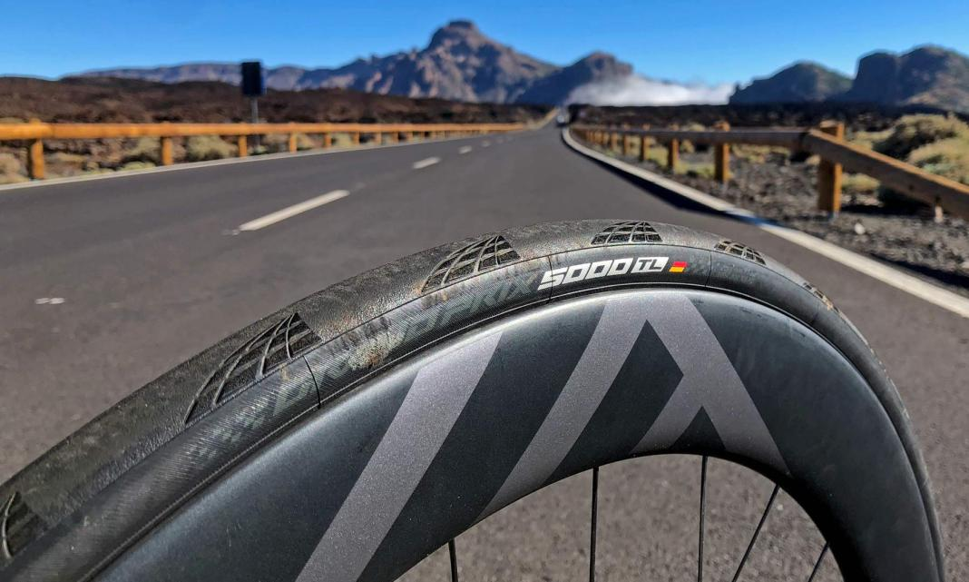 Continental GP 5000 TL tubeless road tire, a fully tubeless modern remaking of the industry benchmark road tire