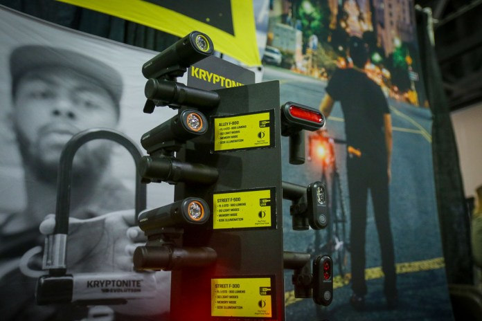 Kryptonite boosts their lights with more lumens, same compact design
