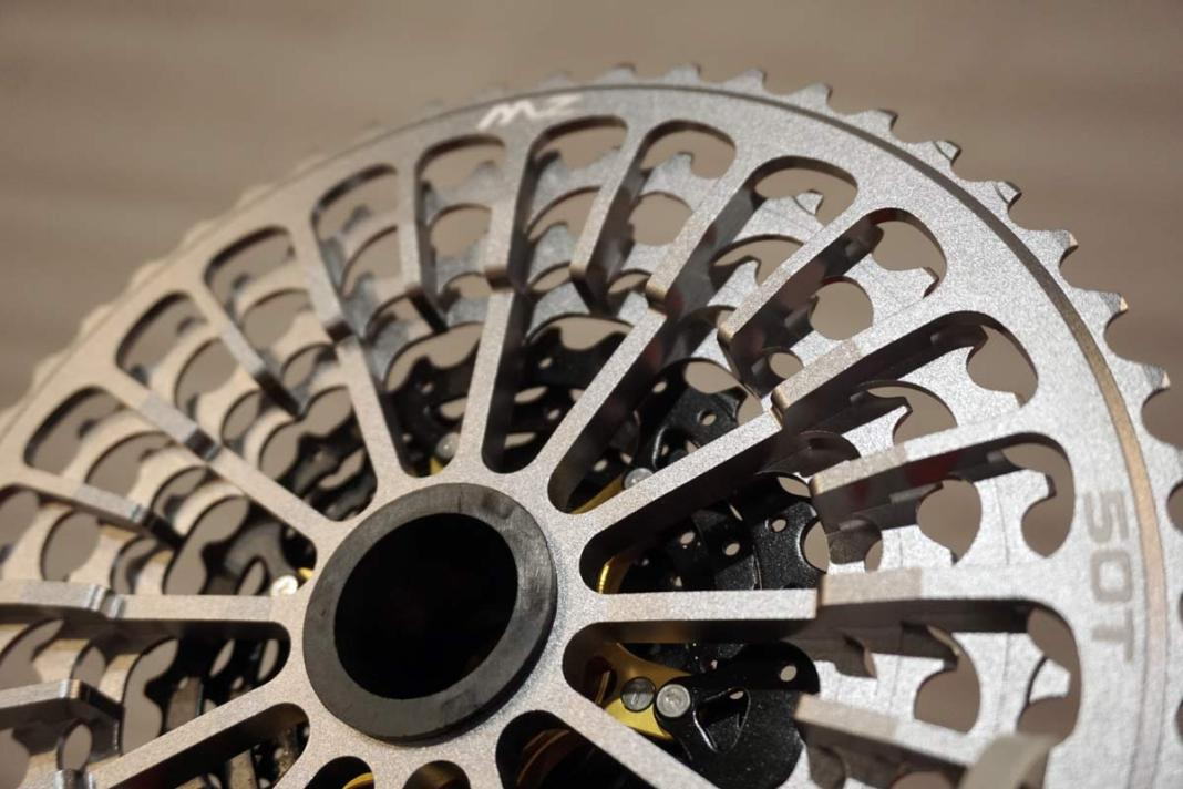 SunRace MZ 12 speed cassette machined lightweight design