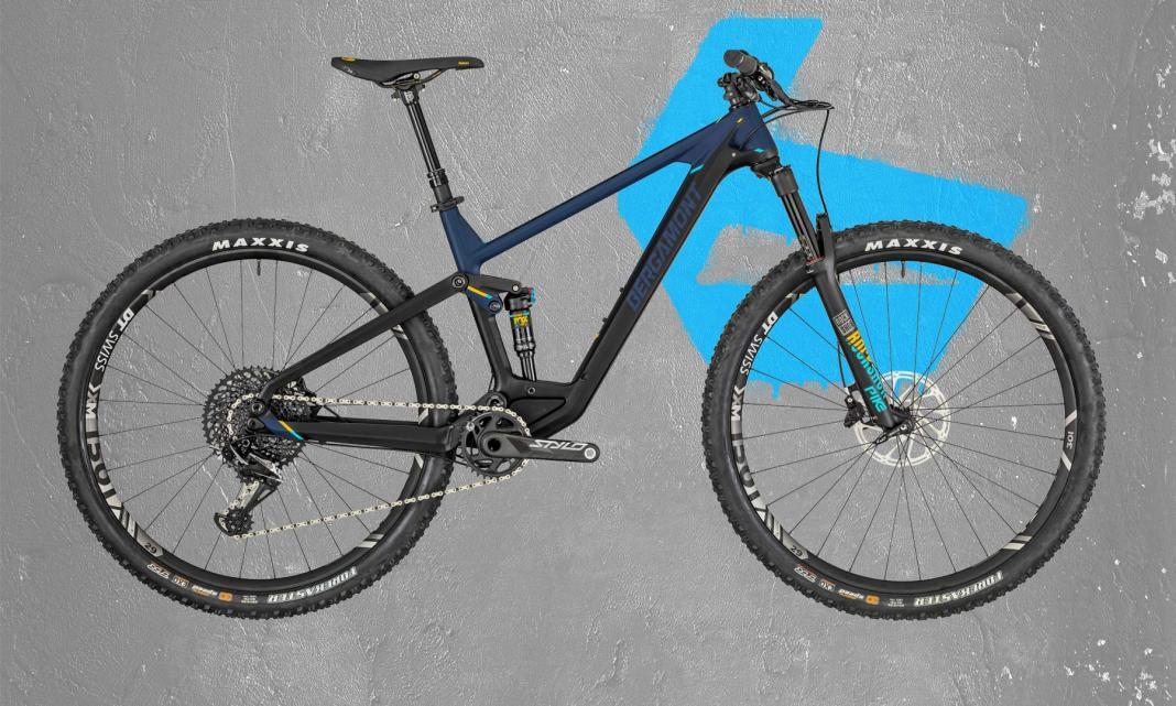 2019 Bergamont Contrail Carbon 130mm trail mountain bike