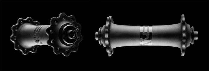 Second generation ENVE carbon fiber road bike hubs