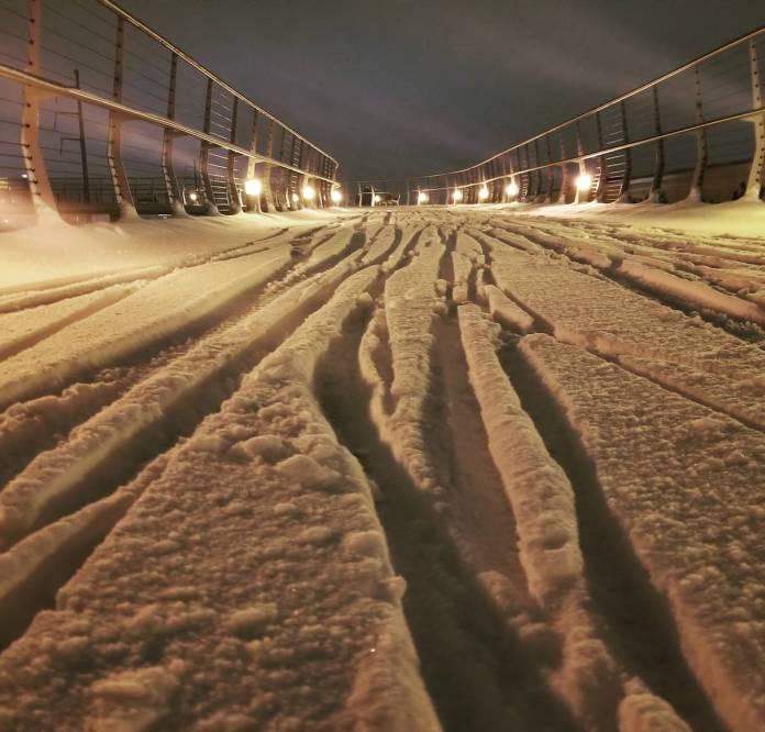 Bikerumor pic of the day the Sabo bridge in Minneapolis, Minnesota.