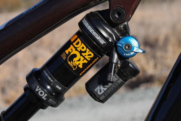 Rocky Mountain Instinct BC Edition 2019, rear shock switch
