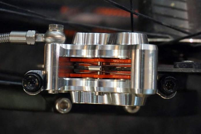 Trickstuff Maxima four-piston mountain bike brakes