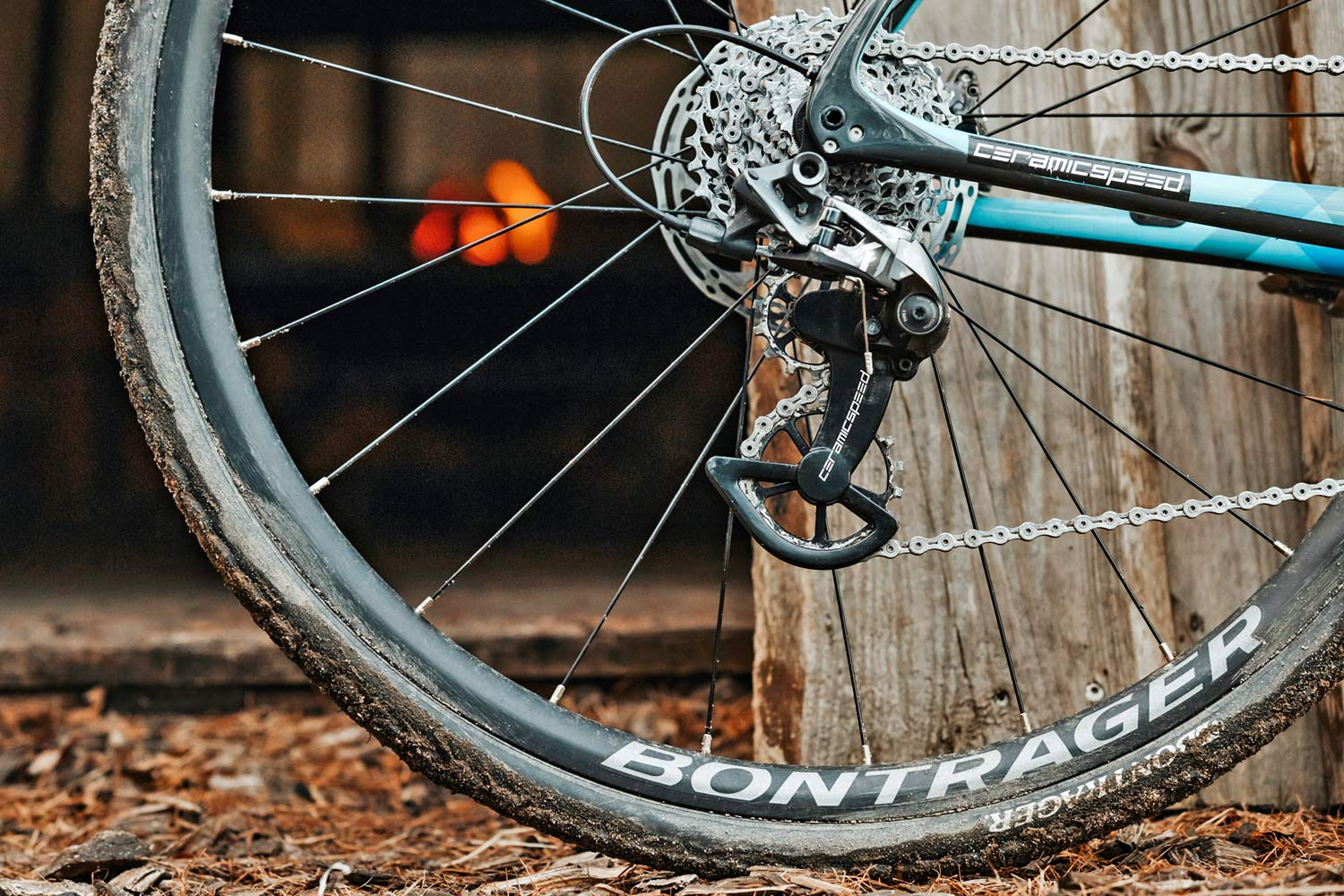 Riding dirty on CeramicSpeed OSPW X off-road w/ massive gravel & CX pulleys