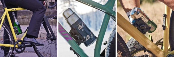 Fidlock Uni Connector universal fit Boa dial cageless cage-free bicycle water bottle carrier bidon holder