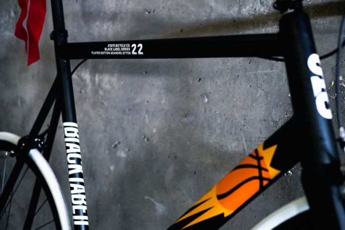 State Bicycle Co. goes big with custom bikes for NBA's Phoenix Suns