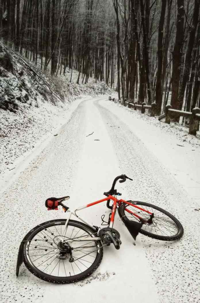bikerumor pic of the day riding all city cycle in Hungary in the Savós Valley.