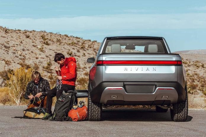 Rivian R1T is the worlds first full electric non-hybrid 4wd pickup truck