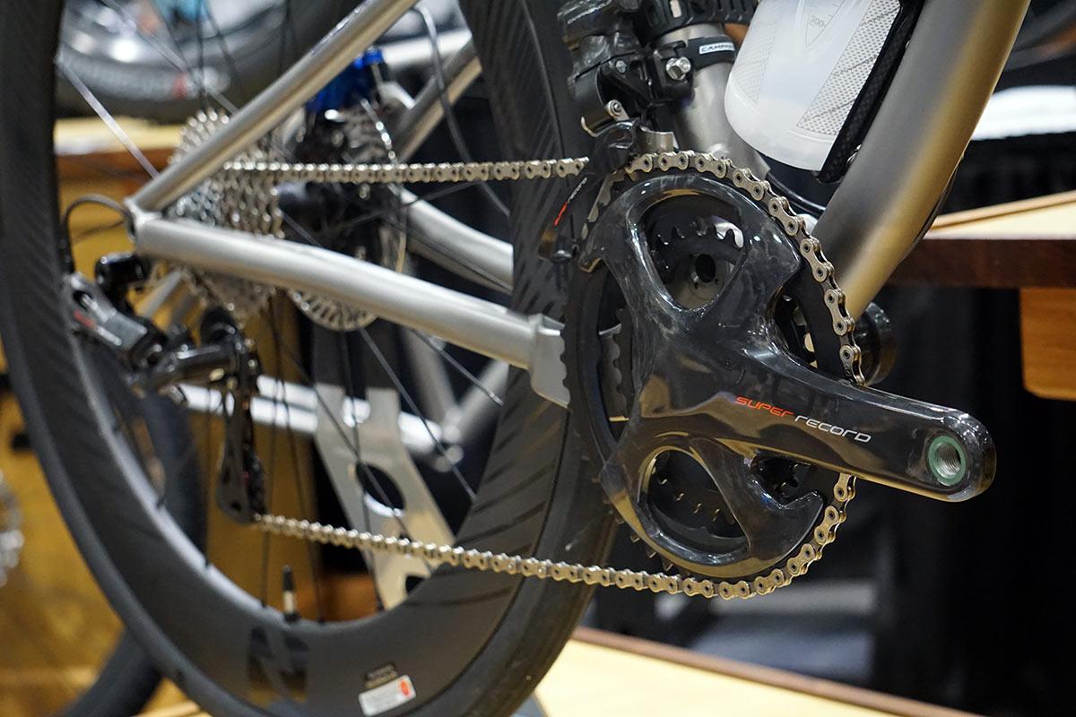 NAHBS 2019: Bingham Built's full-susp Campy road bike, prototype Easton cranks & more!