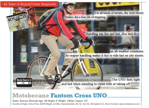 Motobecane Fantom Cx Cyclocross