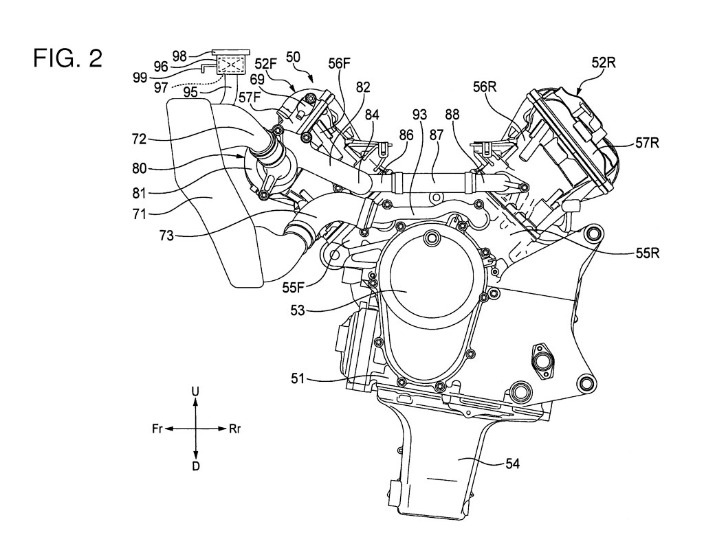 Motorcycle New A V4 Engine For The Future Honda Cbr