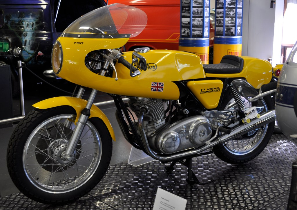 CAPTION: For my money, the Norton Norvill was one of Britain's brightest motorcycling moments.