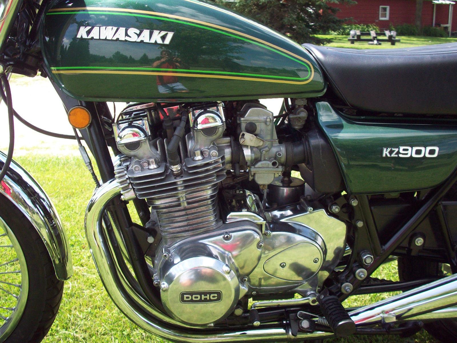Restored Kawasaki Kz900